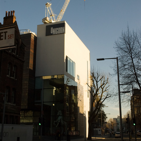 The new Keith Williams Architects designed building